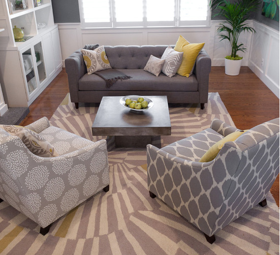 Mismatched Accent Chairs.Five Ideas On How To Decorate With Accent Chairs