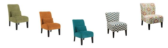 decorating with accent chairs