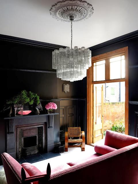 Black Living Room
