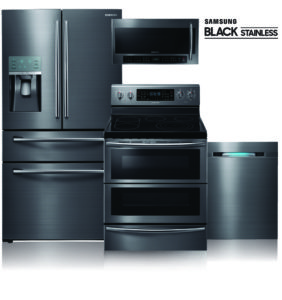 Samsung Black Stainless Steel