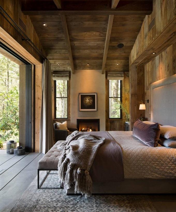Cabin Feel Bedroom