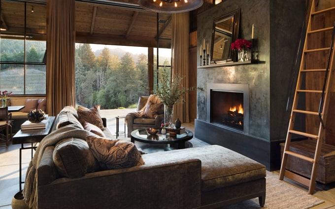 Cabin Feel Living Room