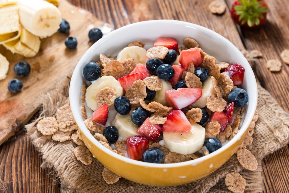 Céréales et fruits
