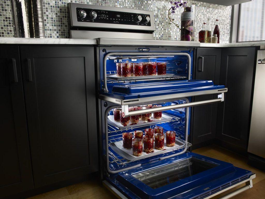 Range with Double Oven