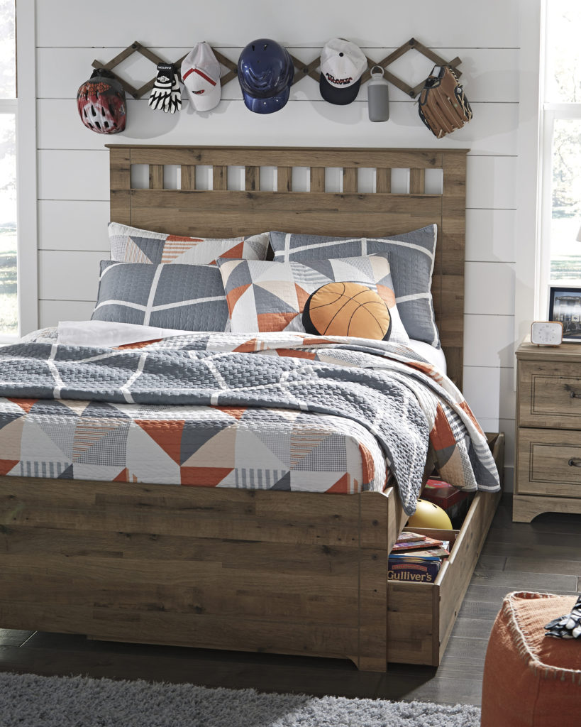 Bed with Storage solution