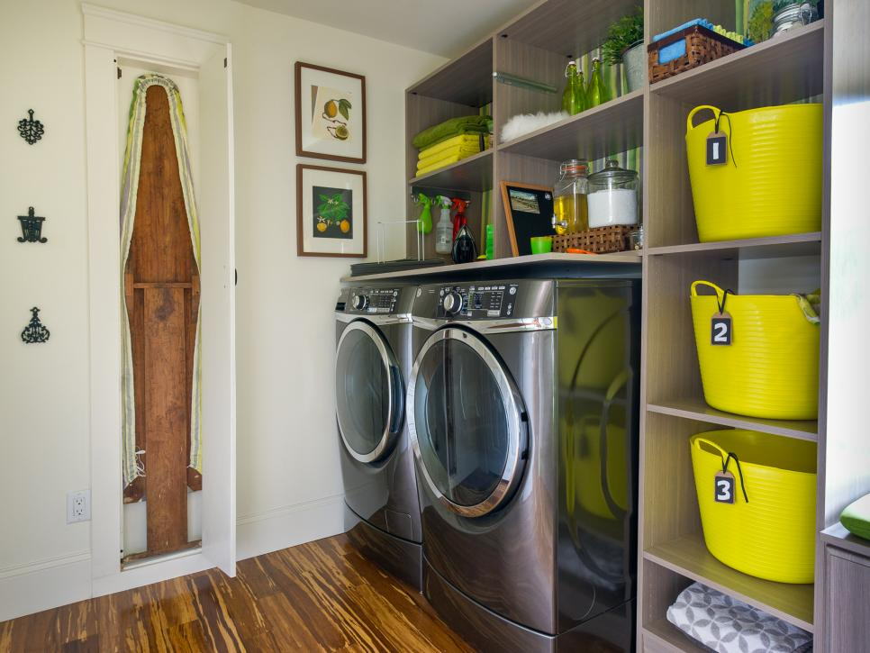 Colourful Laundry Room