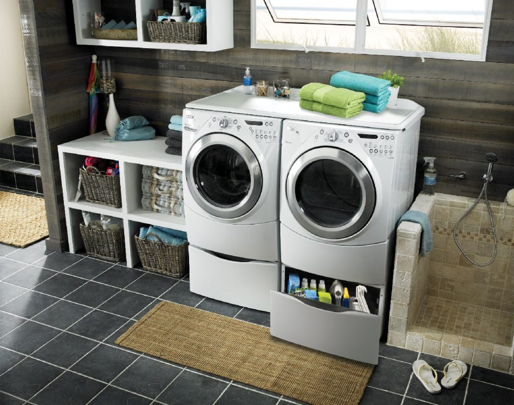 How Whirlpool Laundry Pedestals Benefit You