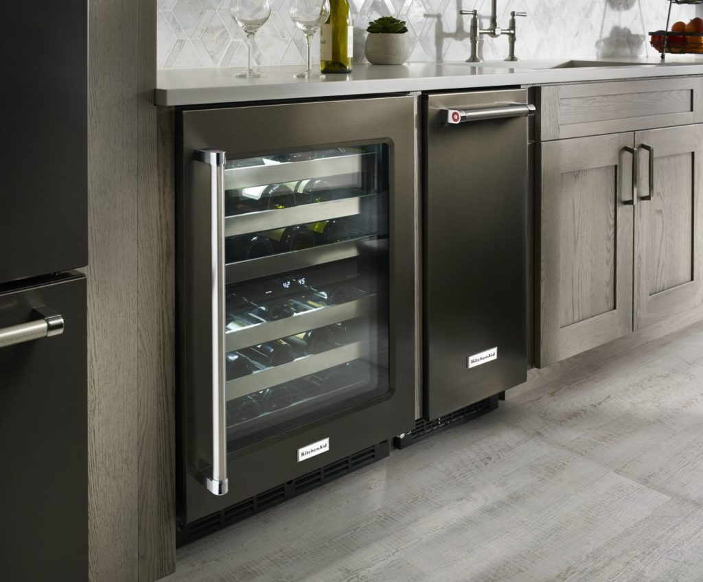 Kitchen Aid Wine Cooler KUWR304EBS