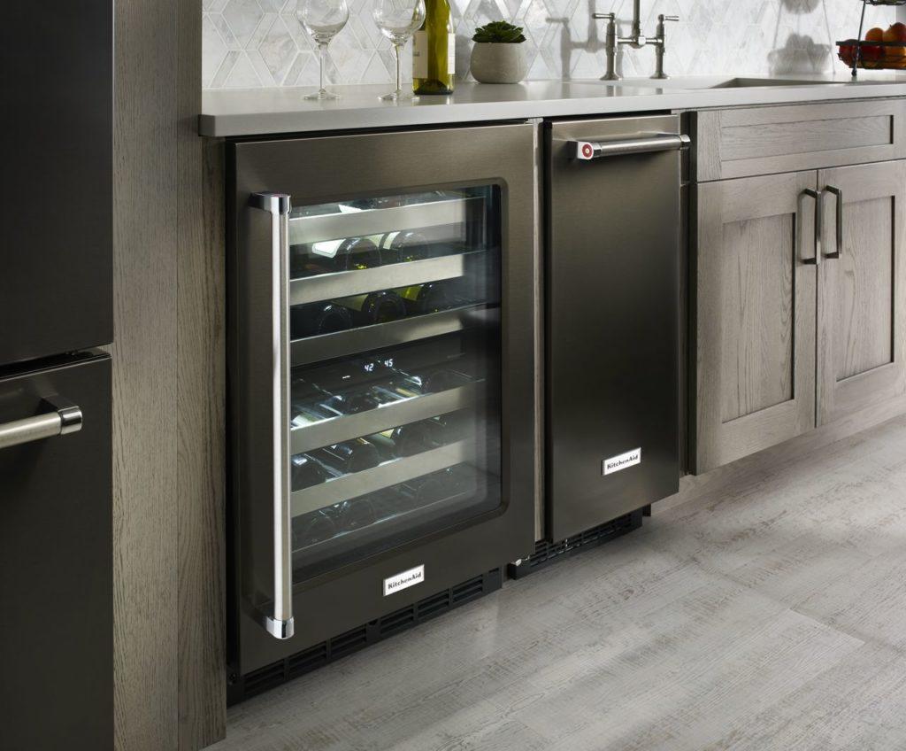 Refroidisseur à vin Kitchen Aid KUWR304EBS