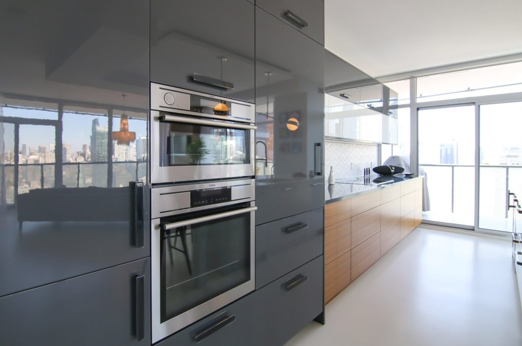 Kitchen with Built-In Appliances