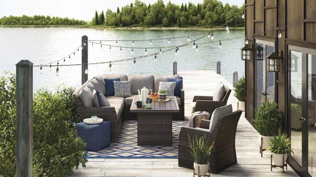 Outdoor Living Rooms Here to Stay