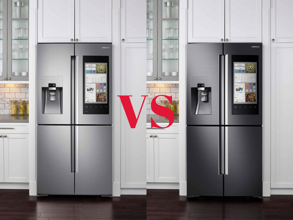 Samsung Black Stainless Steel Vs Stainless Steel