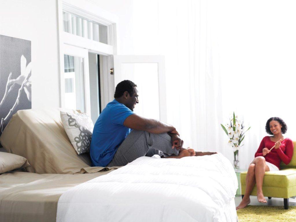 Un lit réglable pourrait vous aider si vous souffrez d'un trouble du sommeil