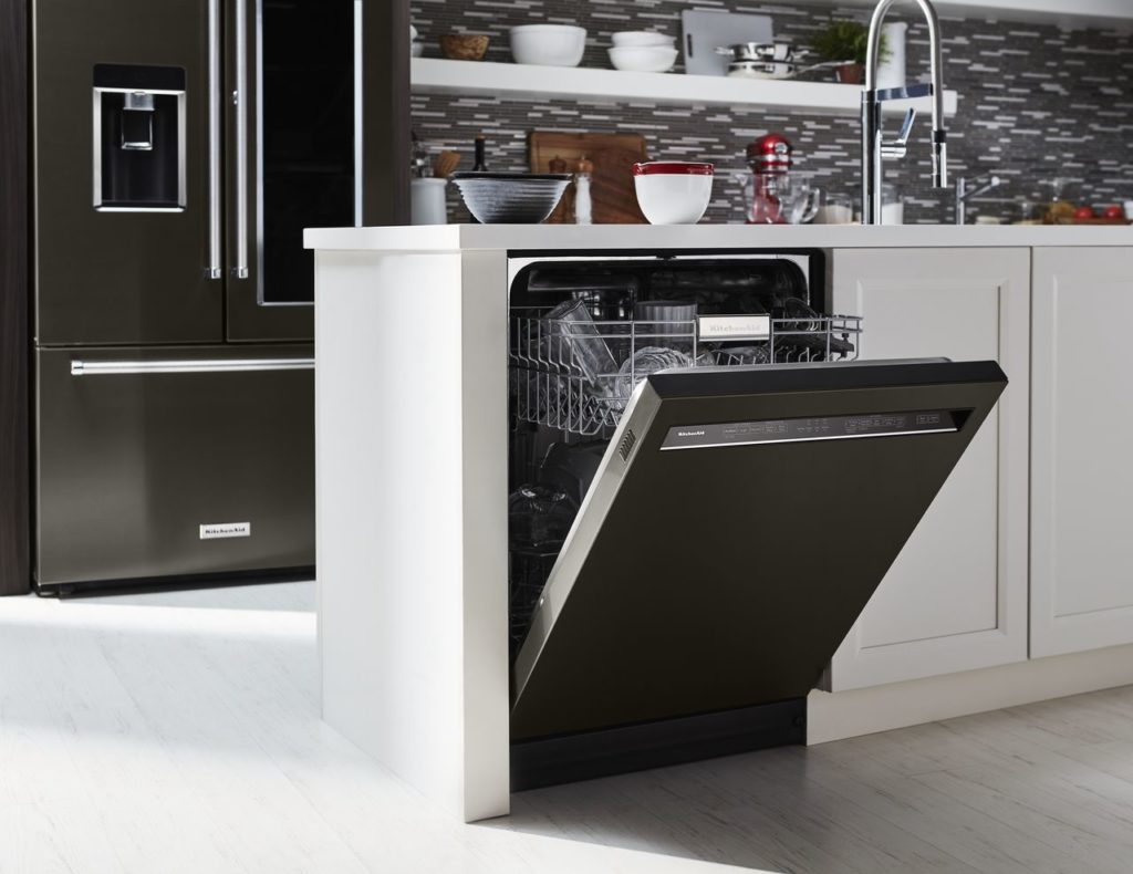 5 ways to clean your kitchenaid dishwasher. Black Bedroom Furniture Sets. Home Design Ideas