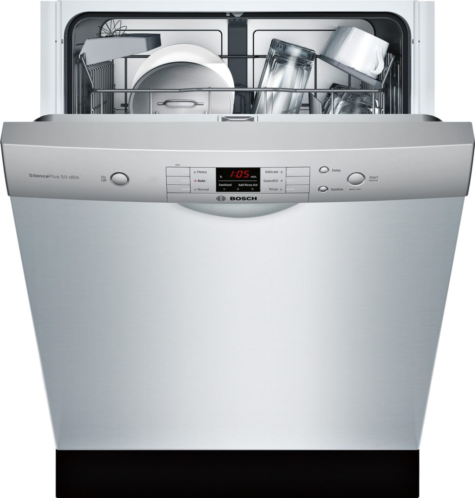 Bosch 100Series Dishwasher in Stainless Steel