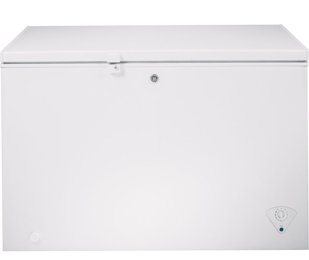 GE Freezer with door lock