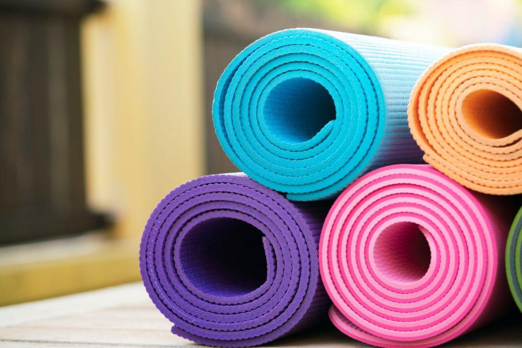 Laver un tapis de yoga