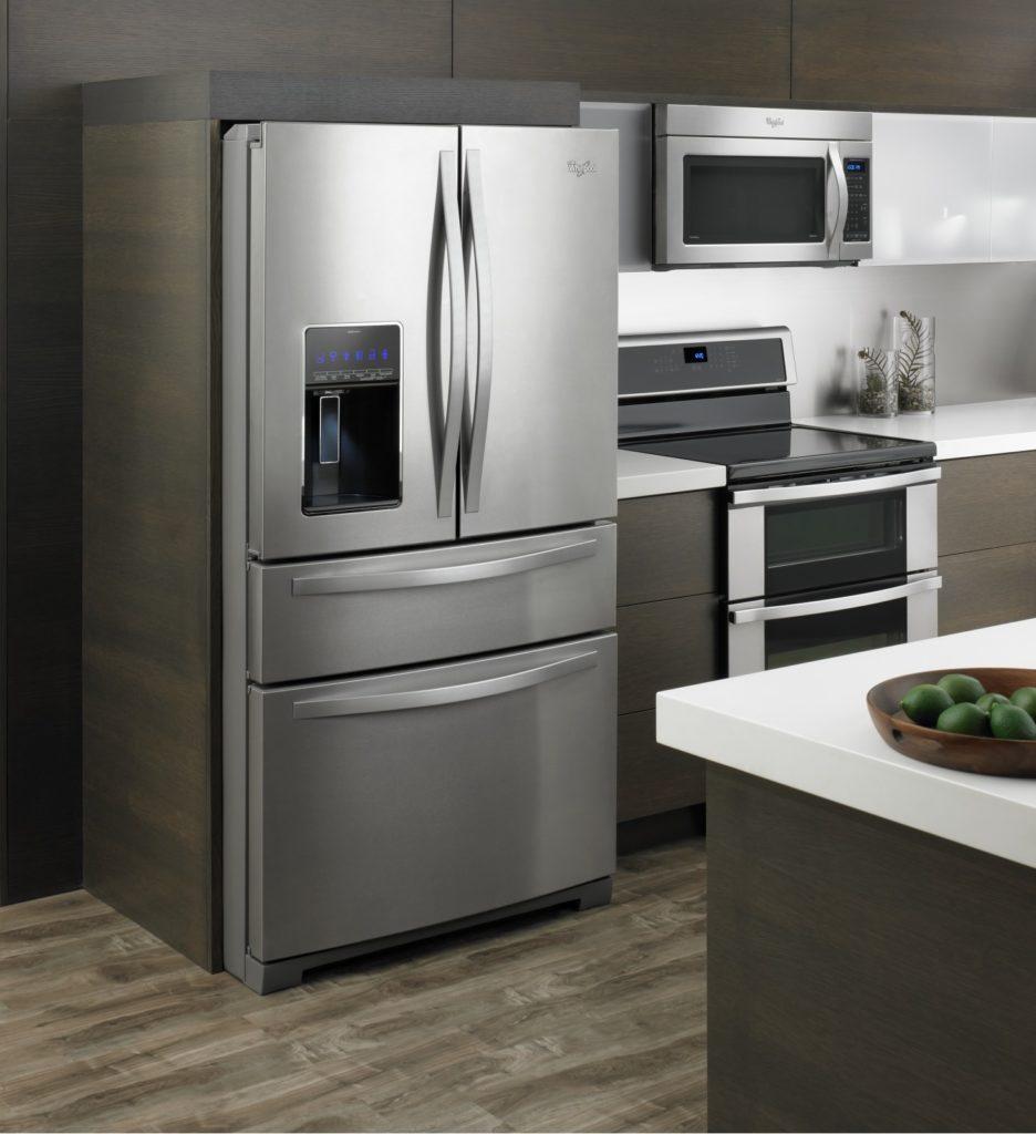 Whirlpool French Door Refrigerator 4 doors