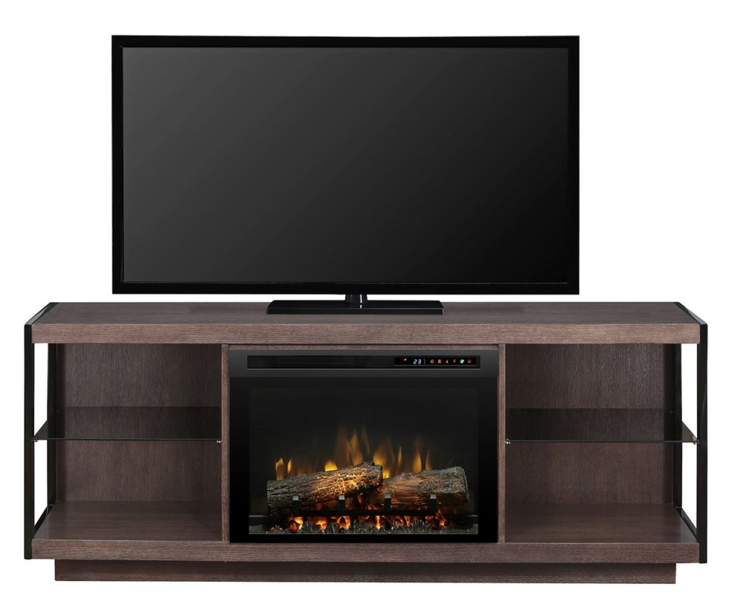 Dimplex Leaf Media Console with Electric Fireplace GDS26L8_1653TB