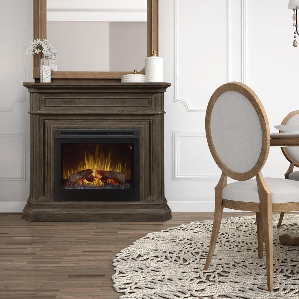 GDS28L5_1995B_Dimplex Ophelia Mantel Electric Fireplace