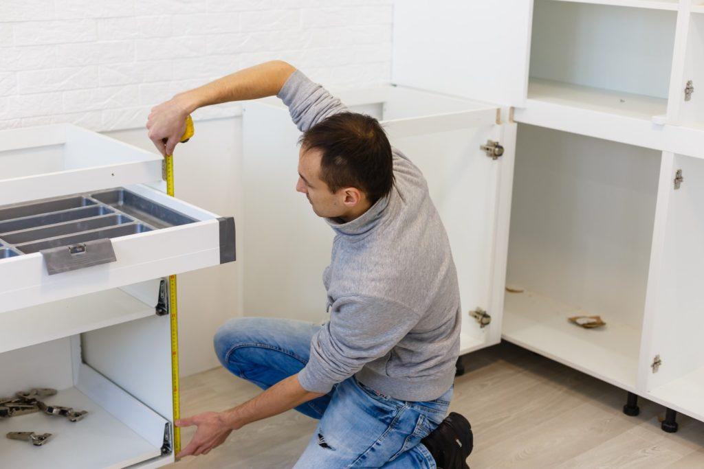 Mesurer l'espace disponible pour son électro ménager