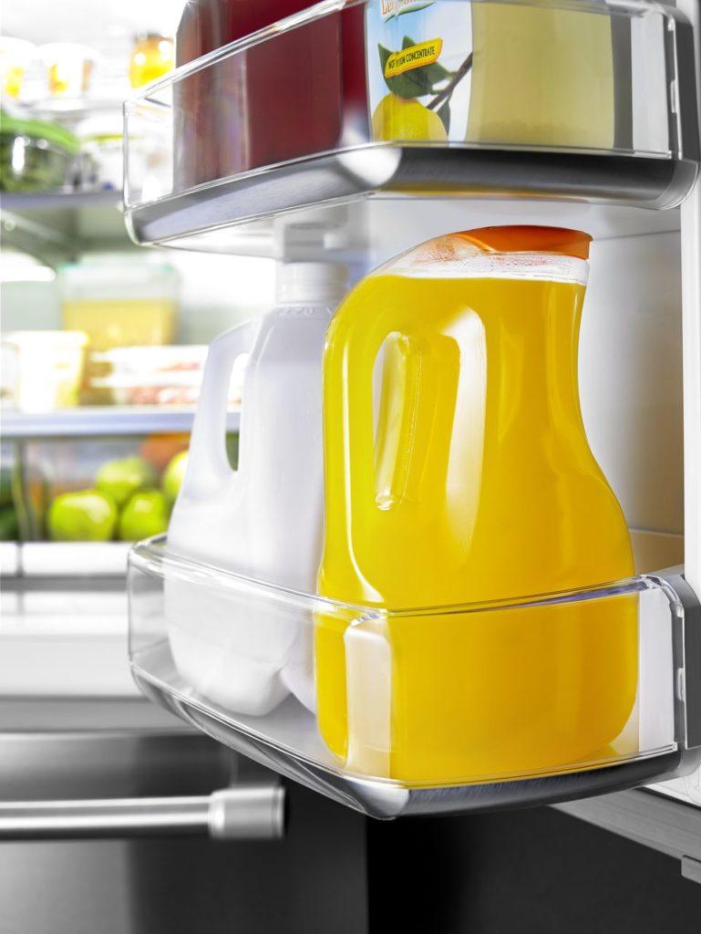 Maytag fridges offer gallon-sized door racks