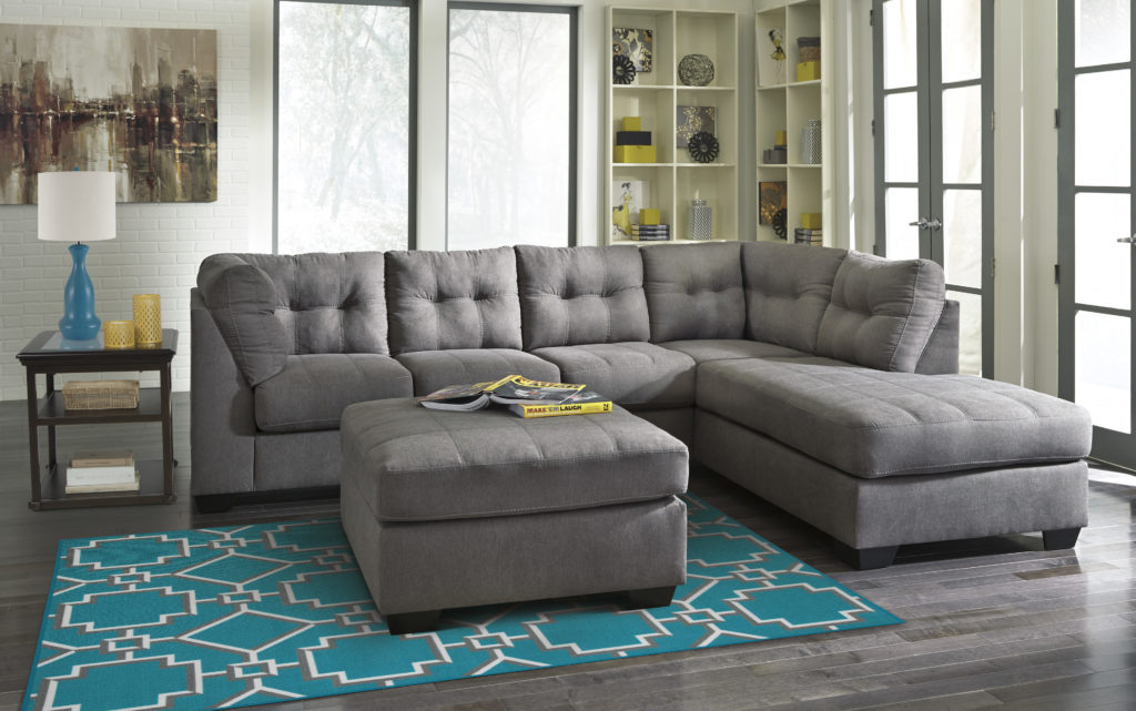 Contemporary Sectional by Signature Design