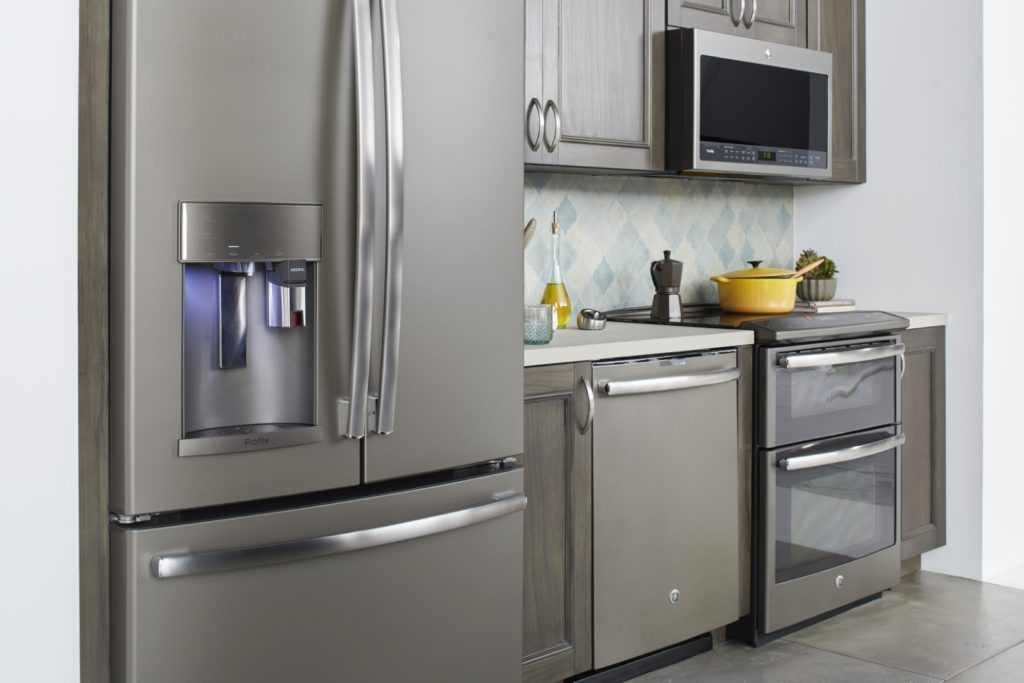 Don't Hate on Slate How to Incorporate GE Profile Slate Finish Appliances in Your Kitchen