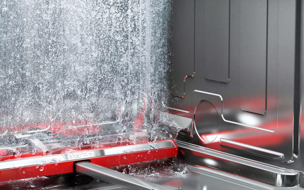 Lave-vaisselle à cuve en acier inoxydable