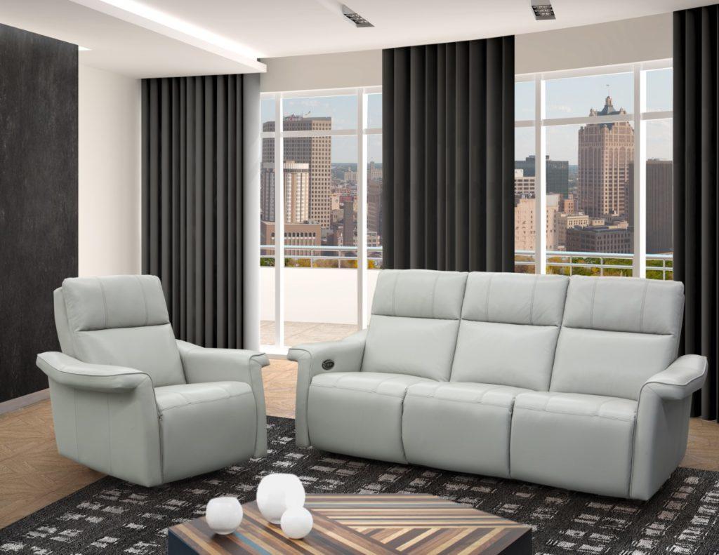ELRAN 4022 Reclining Sofa (Large)