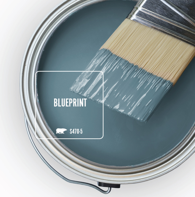 Behr Blueprint S470-5 colour of the year 2019