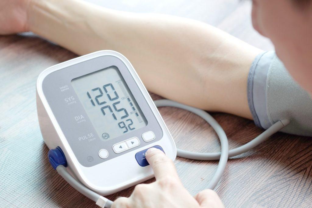 High blood pressure and lack of sleep