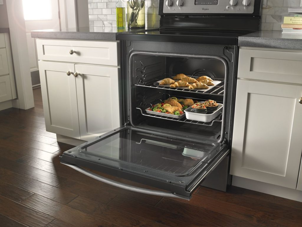 Convection oven offering multiple cooking options (2)