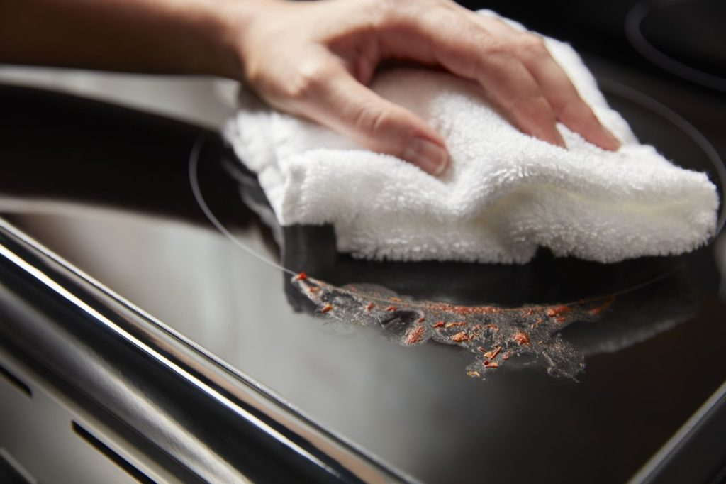 Cooktops are easy to clean