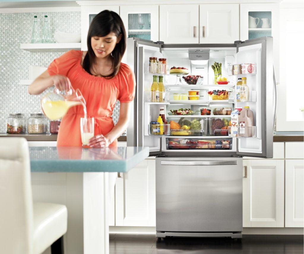 5 façons de prolonger la durée de votre réfrigérateur Whirlpool