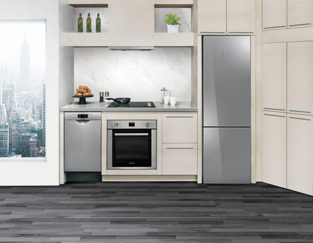 3 bonnes raisons de choisir un réfrigérateur à congélateur inférieur Bosch