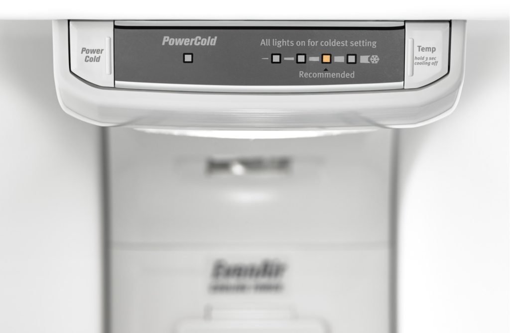 Maytag Power Cold function