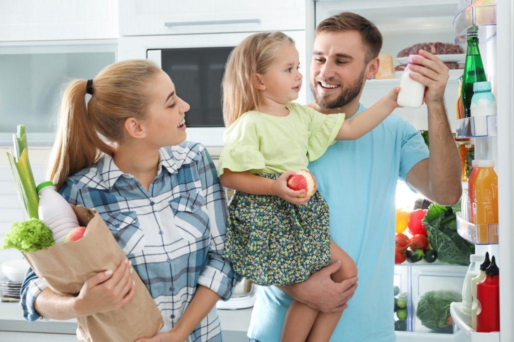 Réfrigérateurs Maytag le meilleur ami des familles actives