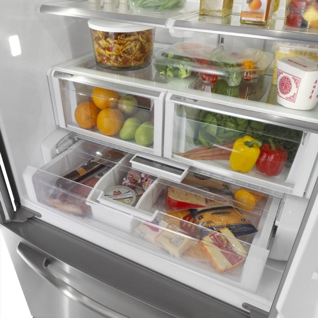 Refrigérateur Maytag avec tiroir à charcuterie