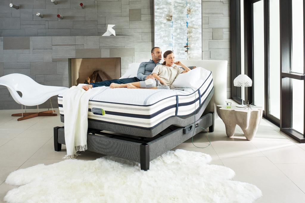 Base de lit ajustable
