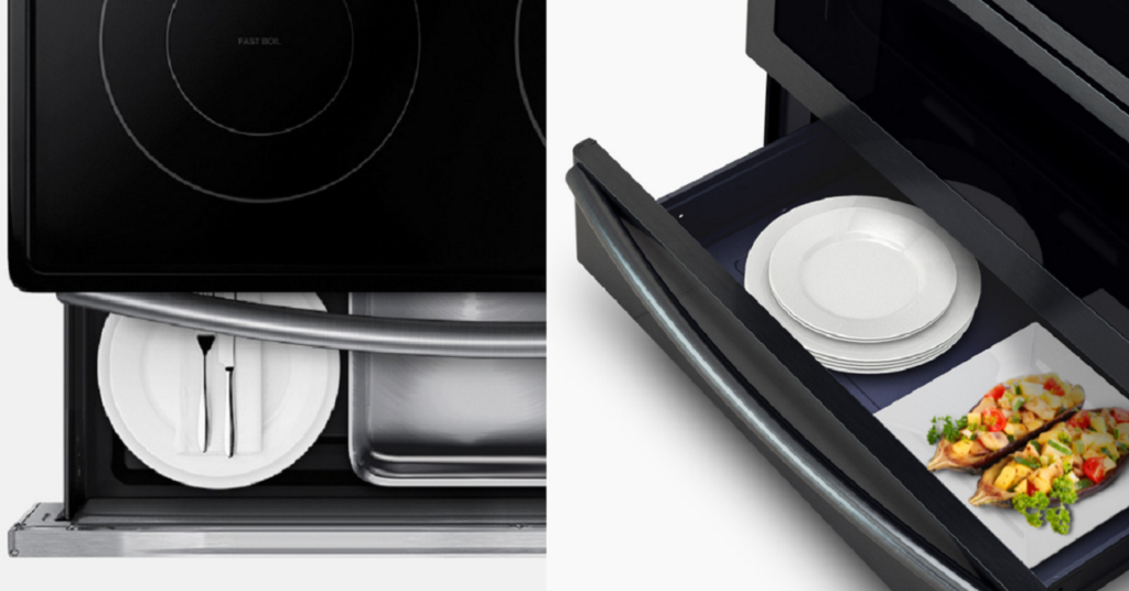 Comment maximiser votre tiroir réchaud Samsung