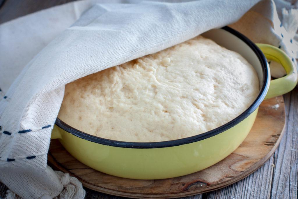 Faire lever la pâte dans un tiroir réchaud