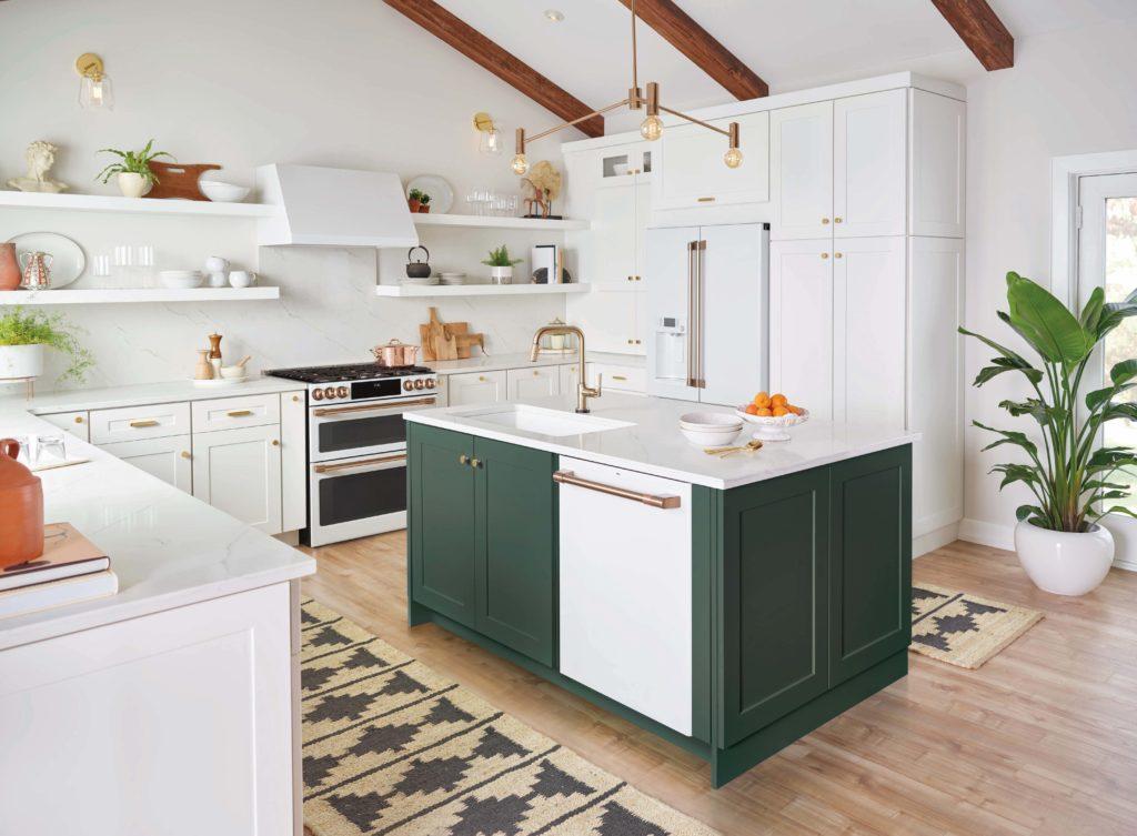 Finis des électroménagers de cuisine GE de nouveaux looks pour une cuisine encore plus belle