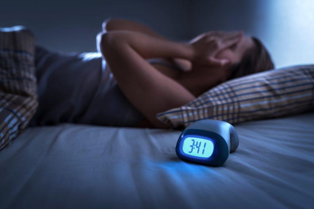Souffrir d'insomnie