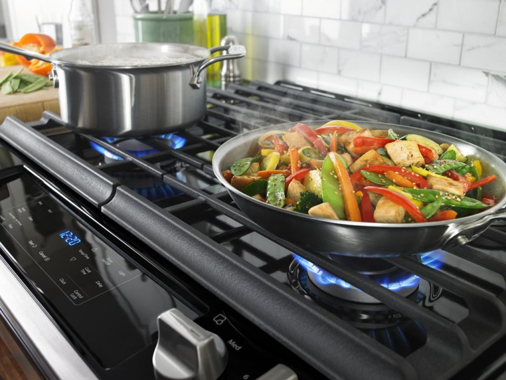 Gas cooktop - range fuel types