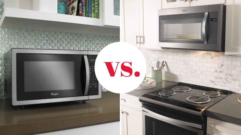 How to Decide Between Countertop and Over-the-Range Whirlpool Microwaves