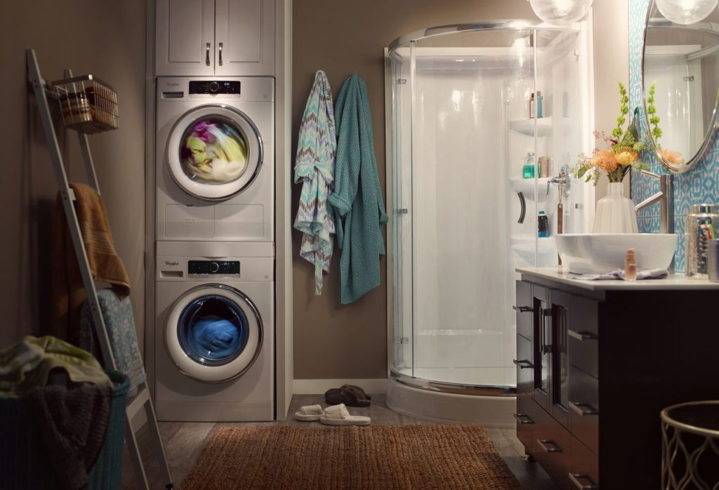 Compact washer and dryer by Whirlpool