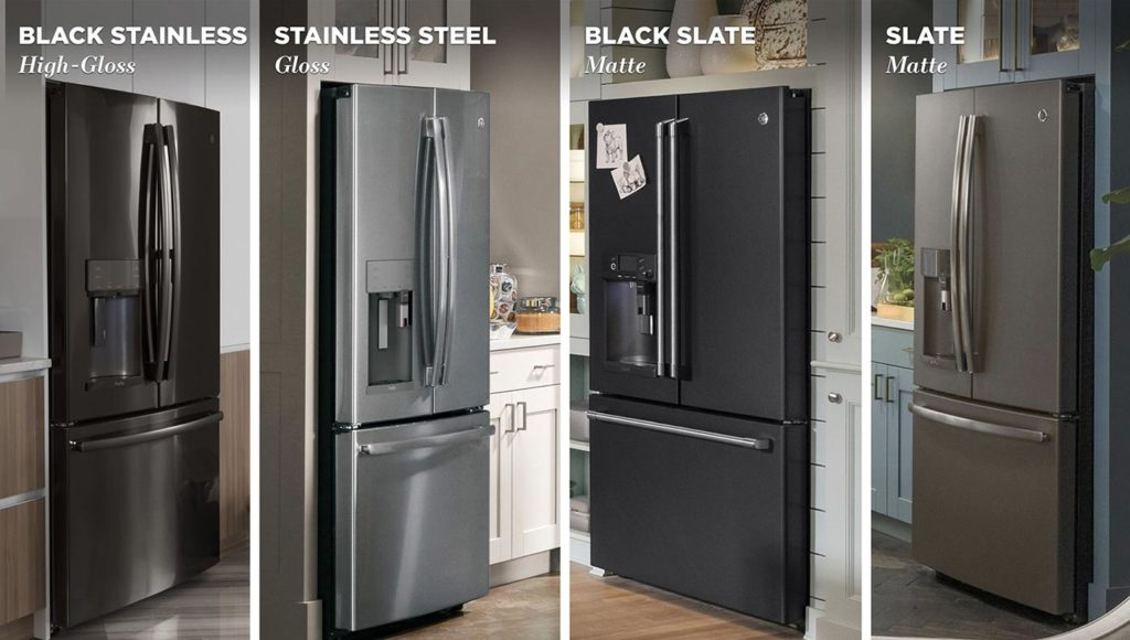 Example of Refrigerator finishes