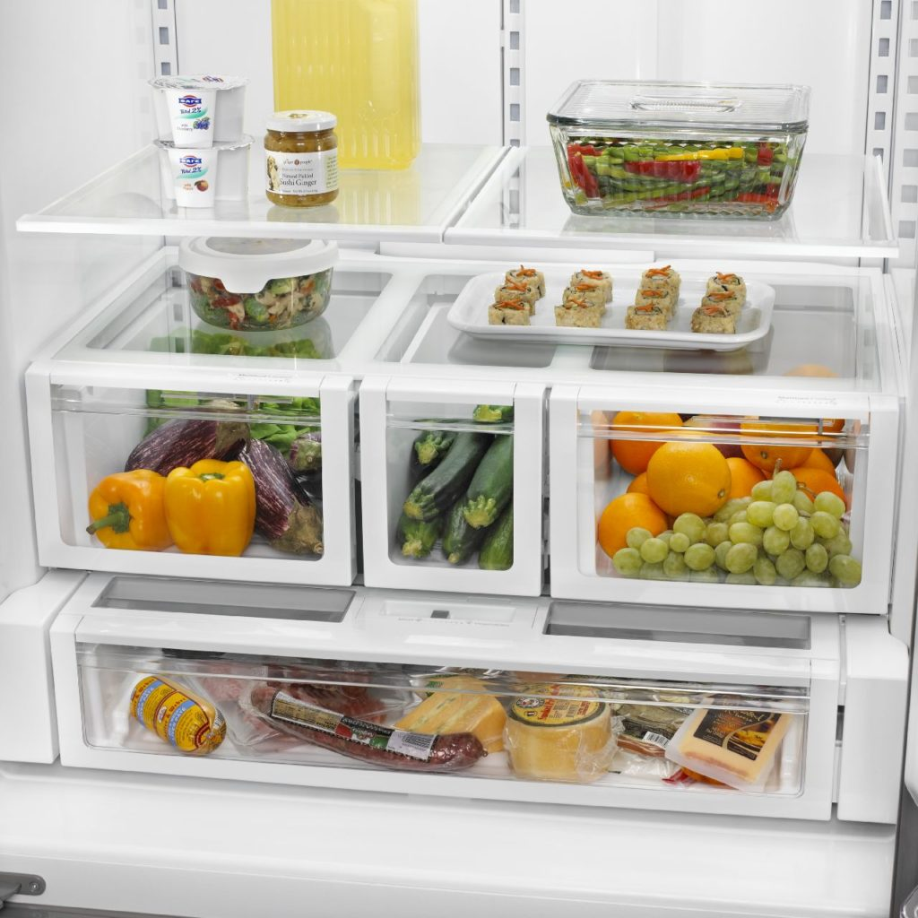 Drawer options in refrigerators