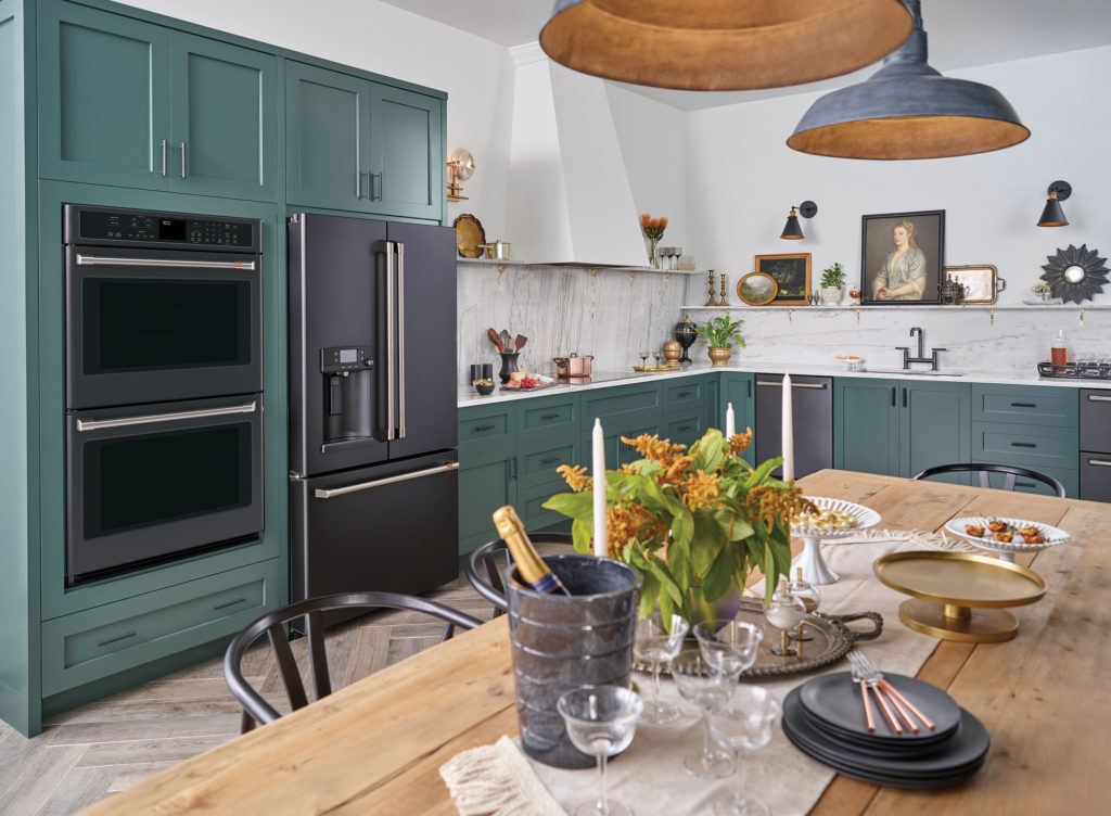 Matching Appliances in a Kitchen